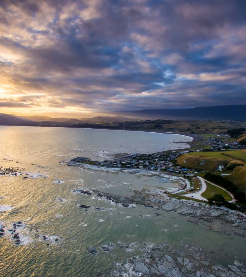 Kaikoura: A wonder of land and sea.